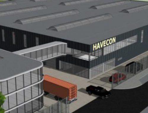Nieuwe bedrijfshal Havecon