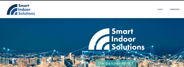 Nieuwwe website Smart Indoor Solutions